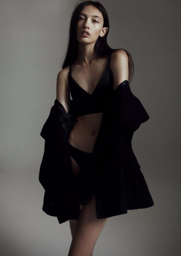 by Romain Duquesne, make up by Miriam Nichterlein, styling Samara Wilson