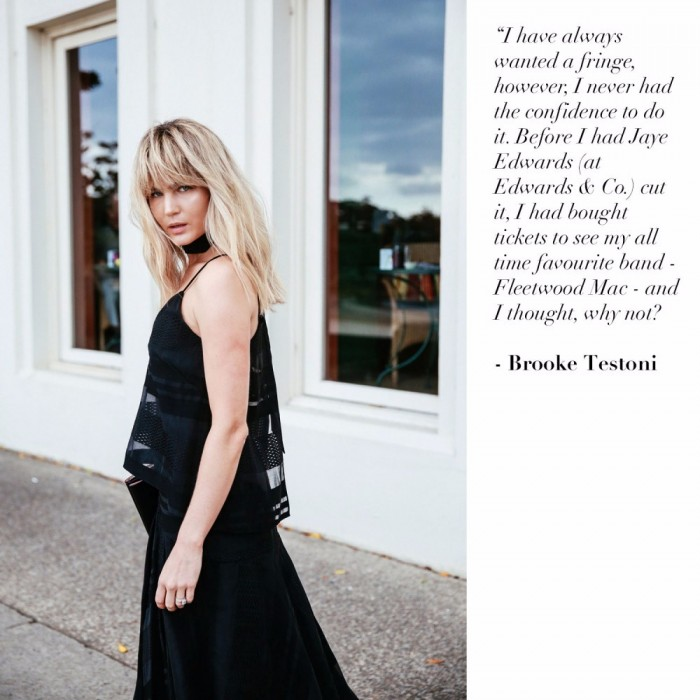 Brooke Testoni Fringe comment