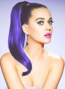 katyperry ponytail