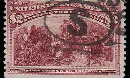 U.S.A. #242 Fine Used 1893 $2 Columbian