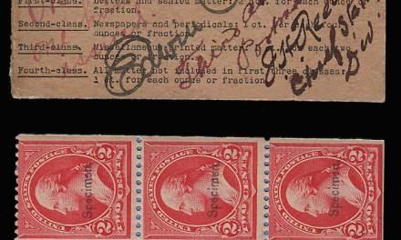 U.S.A. #279BjS Signed 2-pane NH Specimen Booklet