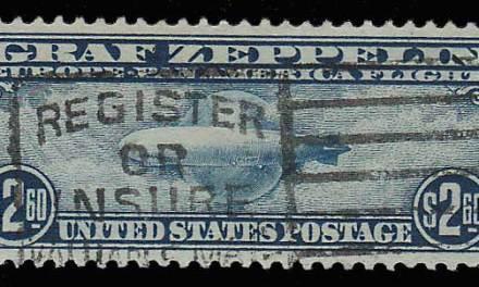 U.S.A. #C15 F/VF Slogan Cancel Used $2.60 Zep crease