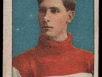 1910/11 Lester Patrick C56 #26 Rookie Hockey Card flaws