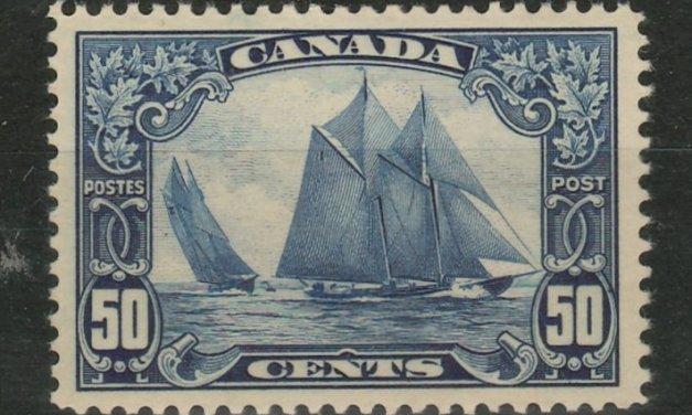Canada #158 XFNH 1929 50c Bluenose