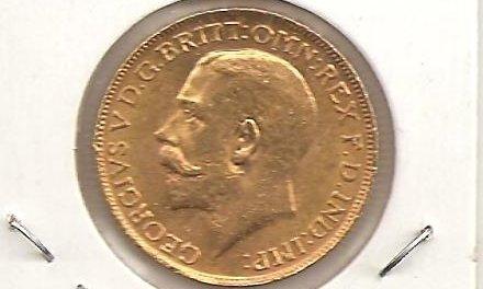 Canada Unc 1917C Gold Sovereign