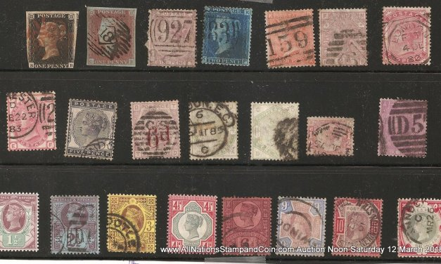 G.B. #1/126 mainly Used and gen Fine 1840/1900 Group odd fault US$2000