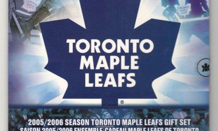 Toronto Maple Leafs BU 2006P 7-coin Set w/ coloured Logo 25 Cents