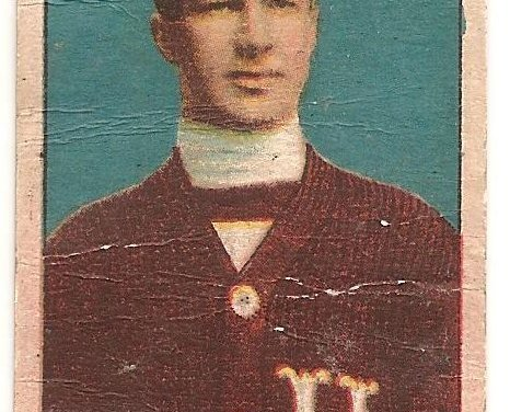 Art Ross 1910/1911 C56 Imperial Tobacco #8 Rookie Hockey Card creases