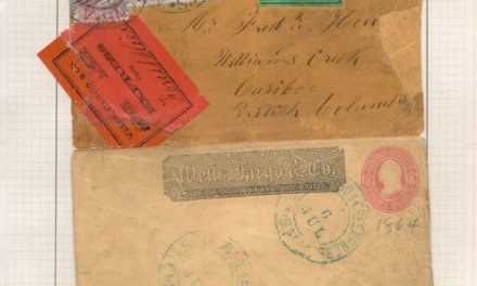 British Columbia 1864 San Francisco/William's Creek reconstructed Cover