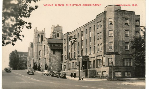 Philip Timms' Y.M.C.A. Vancouver, B.C. Postcard