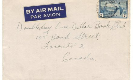 Whalley's Corner, B.C. 1948 7c Airmail only known cover