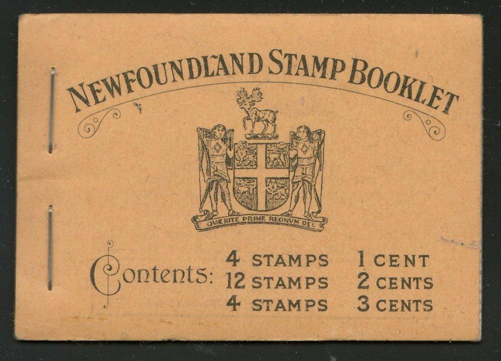 Newfoundland #BK2 1932/1937 NH Complete Booklet
