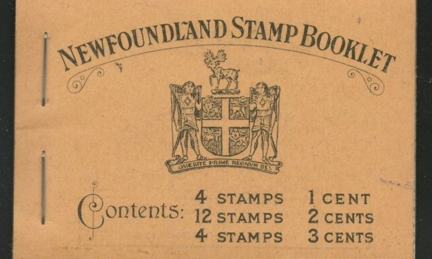 Newfoundland #BK2 1932/1937 NH Complete Stamp Booklet