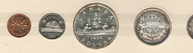 Canada Proof-like 1956 6-coin set