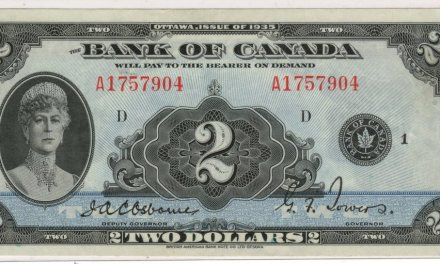 Canada #BC3E 1935 $2 Queen Mary