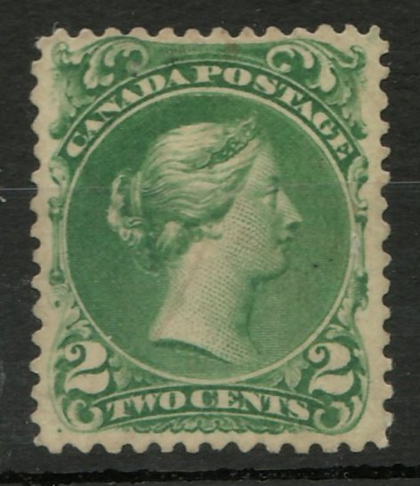 Canada #32F F/VF Used 2c Laid Paper Andre Frodel Forgery