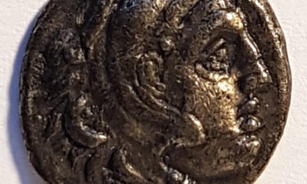 Alexander the Great XF 3m Silver Drachm