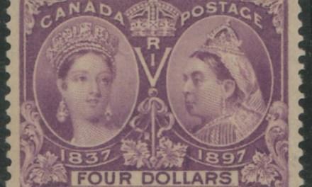 Canada #64 VF Mint HR 1897 $4 Jubilee