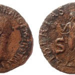 Claudius AE As with Libertas