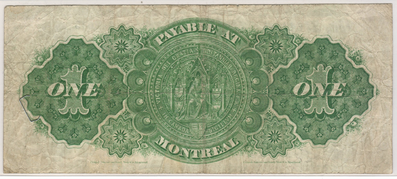 Countess of Dufferin other side of Bank Note