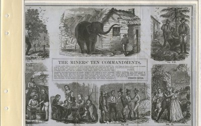 The Miners' Ten Commandments – Page 4 of Wellburn Fraser River Gold Rush collection