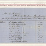 Invoice for goods supplied to H.B.C. at Fort Langley 1859 – Page 5 of Fraser River Gold Rush