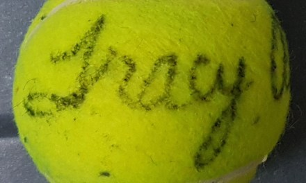 Tracy Austin Signed Tennis Ball