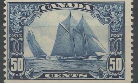 Canada #158 1929 50c Bluenose