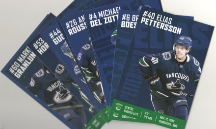Vancouver Canucks 2018/2019 Team Cards (16)
