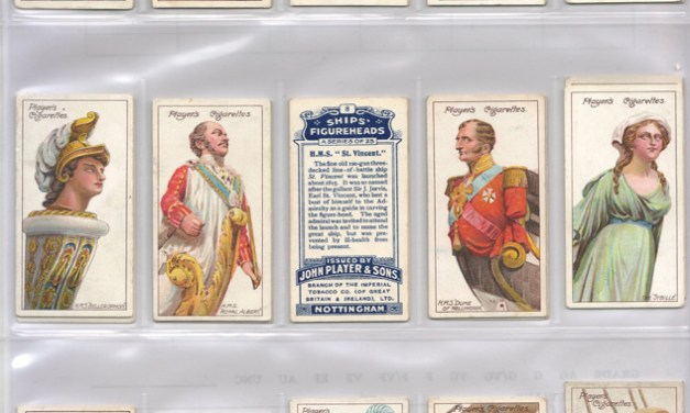 Player's 1912 Ships' Figure Heads Cigarette Card Set (25)