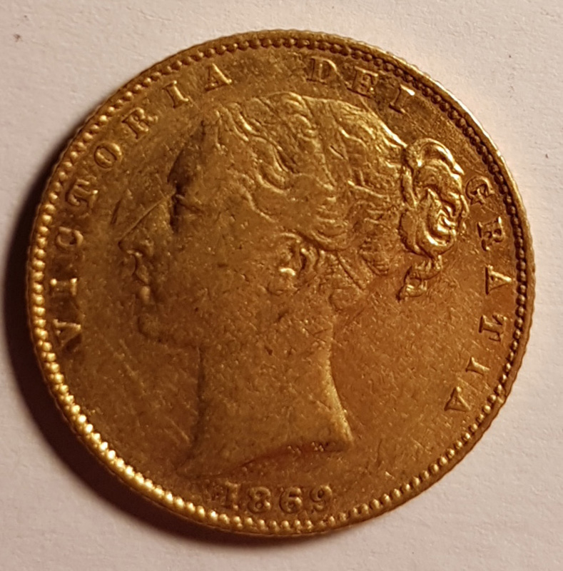 Obverse Victoria Young Head