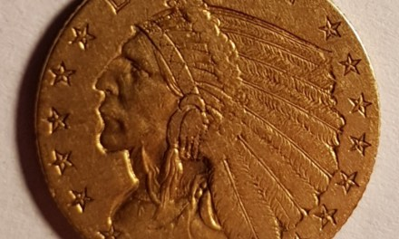 U.S.A. XF 1908 Indian Head $2.50 Gold first year Quarter Eagle