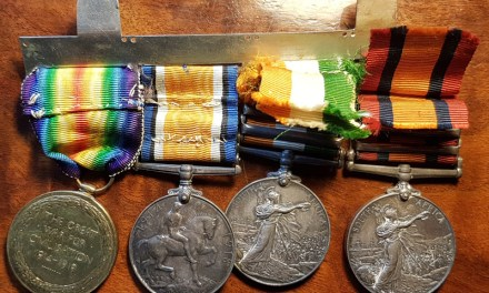 Boer War WW1 Medals Group named to M. Forrest Scottish Horse (4)