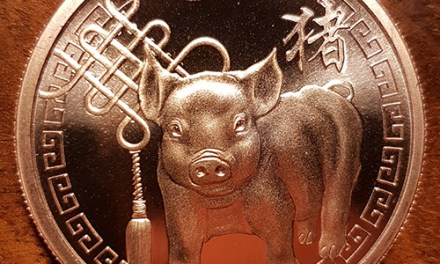 Vancouver Canucks Year of the Pig medallion