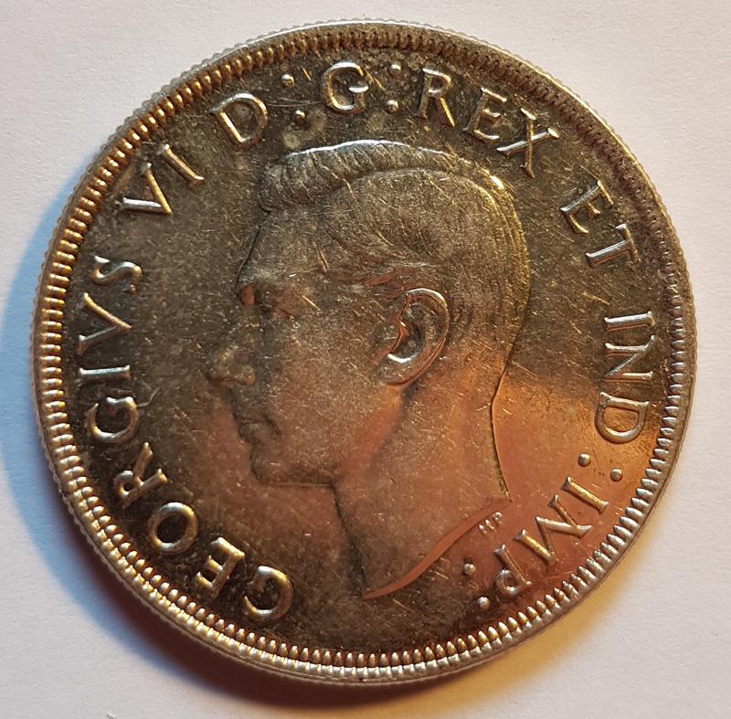 Obverse George VI