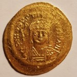 Byzantine 527-565AD Justin I Gold Solidus