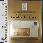 The Story of Canada Volumes I-IV stamps & gold foil FDCs (83)