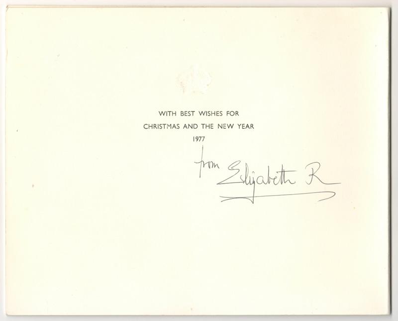 signed Elizabeth R