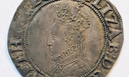 Elizabeth I 1558-1603 Silver Shilling