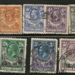 Northern Rhodesia #1/16 Used 1925/1929 George V US$332. (15)