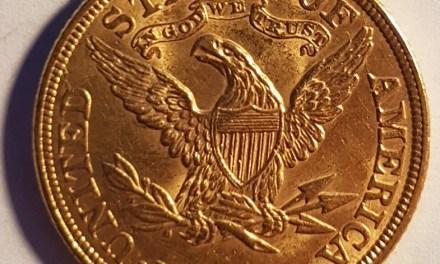 U.S.A./Colonial Canada XF 1898 Gold $5 Half Eagle .24187oz AGW