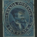 Canada #7 VF Used 1855 10d Blue