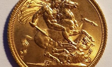 197G.B. BU 1963 QEII Gold Sovereign