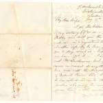 Marcus Smith 1868 London 2-page letter mentions Sir John A. Macdonald