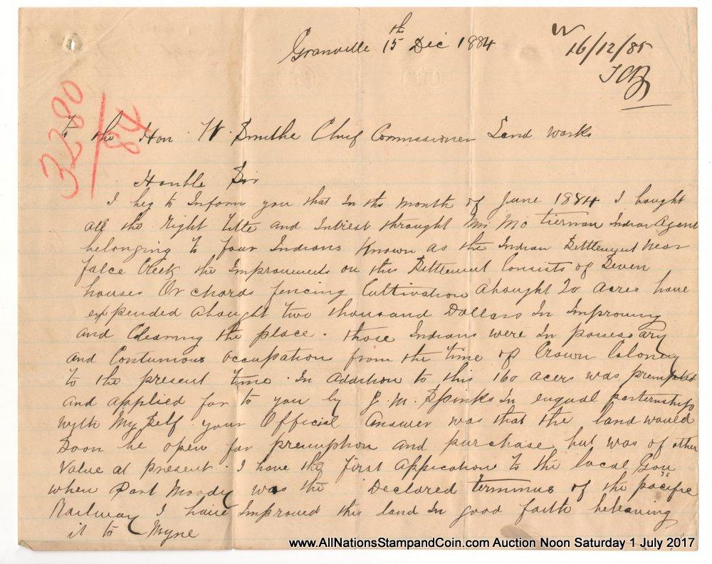 page 1 handwritten letter