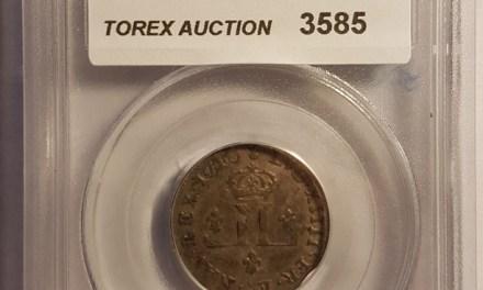 France/Colonial Canada PCGS AU53 1710-Aa Billon Mousquetaire