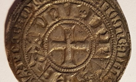 France 1285-1314 Silver 25mm 4gm Gros Tournois
