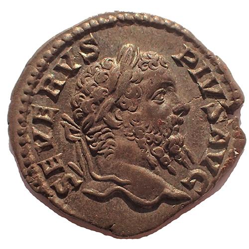 Septimius Severus 193-211AD Silver Denarius