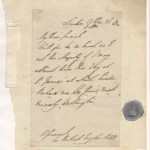 Duke of Wellington 26 Oct 1830 Signed Letter on page, ex Tanne