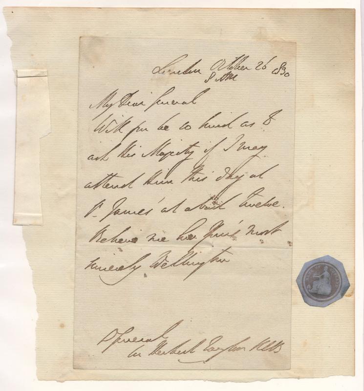 signed Wellington